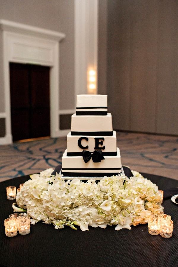 Biało czarne wesele